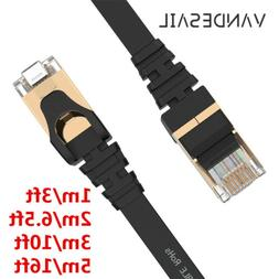 Flat Cat 7 Ethernet Cable,Internet Network Cable Lan For Lap