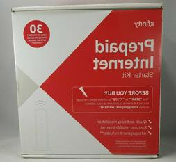 New Sealed Xfinity Prepaid Internet Starter Kit - Includes 3