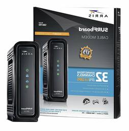 ARRIS SURFboard SB6190 32x8 DOCSIS 3.0 Cable Internet Black