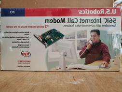 US Robotics 56K Internet Call Modem PCI USR5695 V90, NIB For